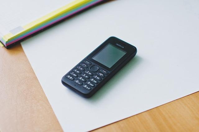 Co z telefonami komórkowymi?